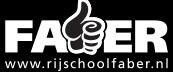 Faber rijschool logo