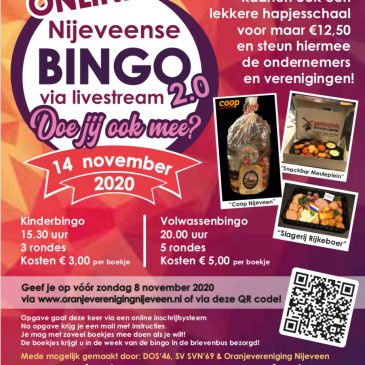 Online Nijeveense Bingo 2.0